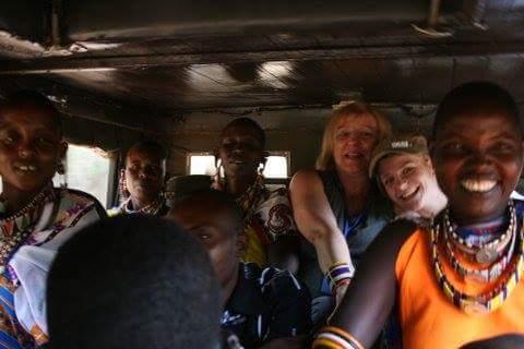 Holzauto Evi Masai