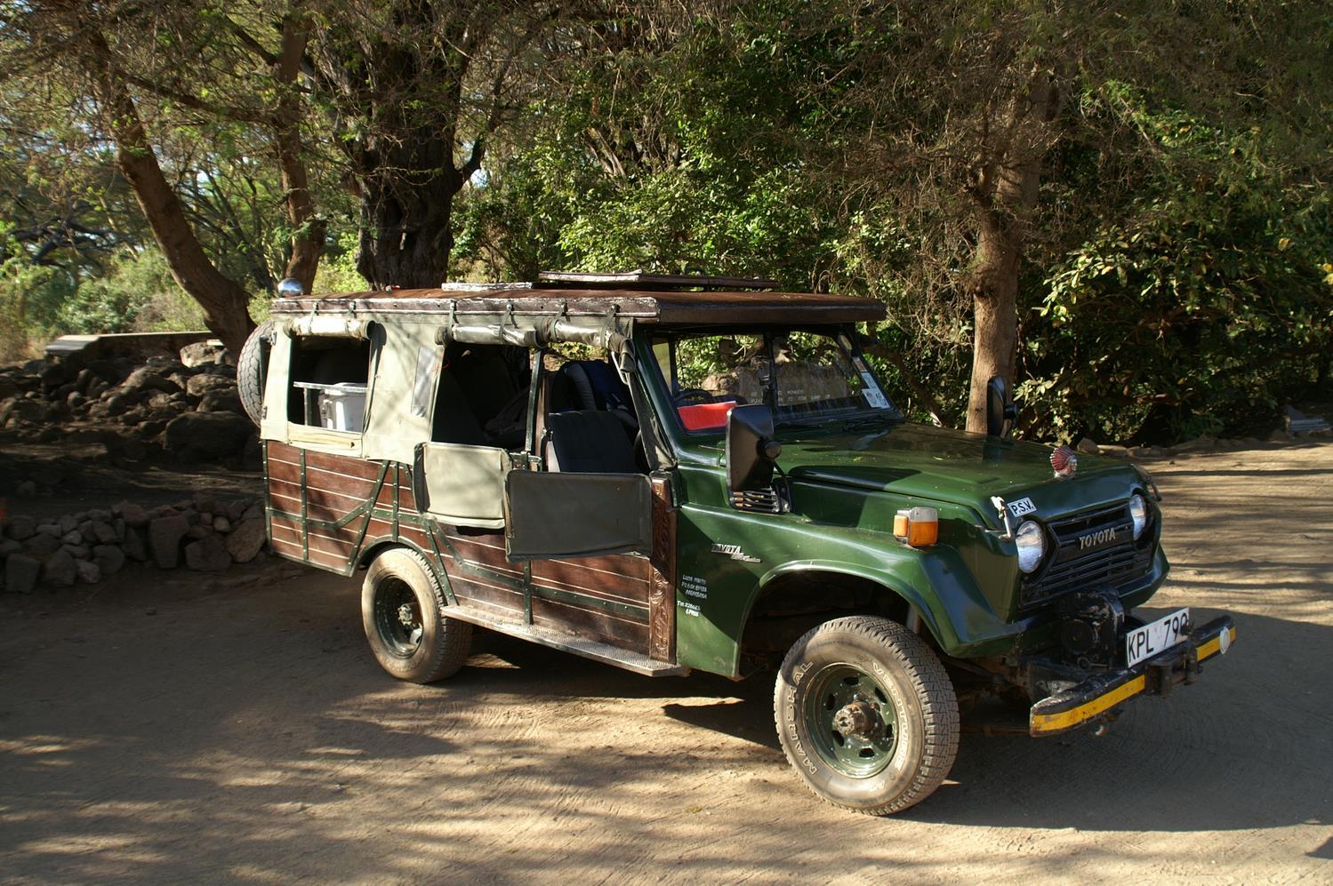 Holzauto safari karl